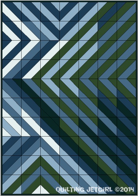 Global Hues Quilt Design, August 14