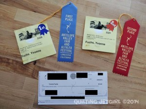 Fair Wrap-up - Ribbons and Winnings