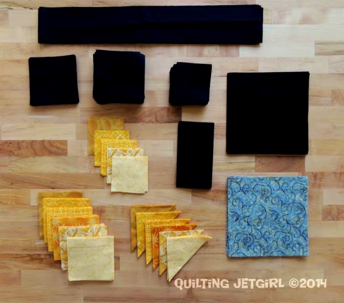 Foothills Mystery Quilt {Cut Fabric}