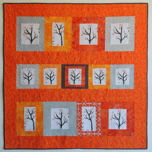 Quilt: Namibia Trees