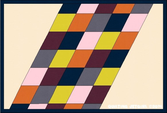 Parallelogram Placemat: Aligned