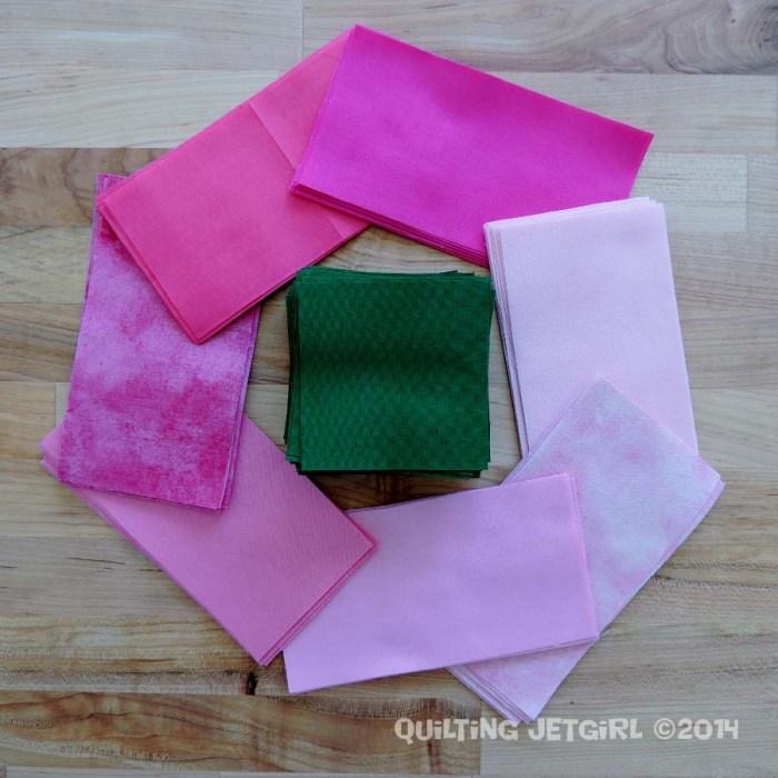 Three Flocks - Fabric Prep
