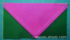 Three Flocks - Marked Sewing Lines