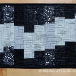 Fiestaware Placemats - Black/Gray Front