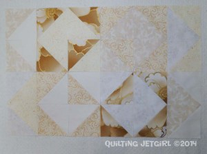 Fiestaware Placemats - Off-White Pieced Front