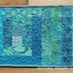 Fiestaware Placemats - Turquoise/Teal Front
