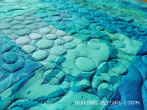 Fiestaware Placemats - Turquoise/Teal Detail
