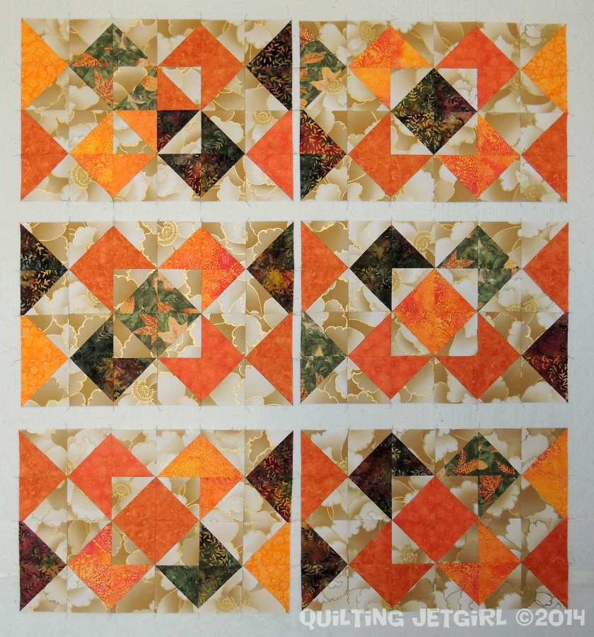 Fall Placemats - Pieced Tops