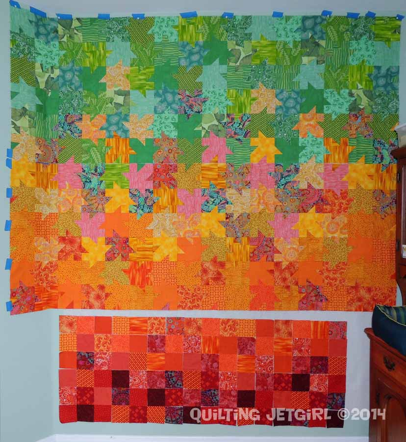 Tessellated Leaves - Two Thirds