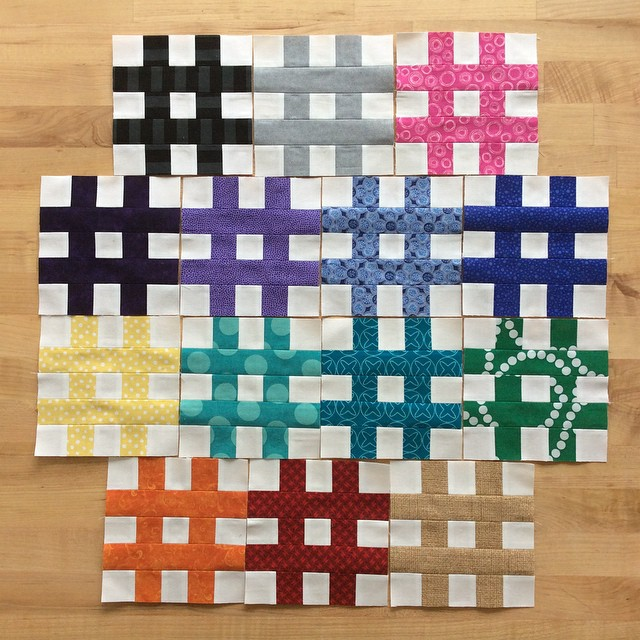 Hashtag Blocks by Quitling Jetgirl
