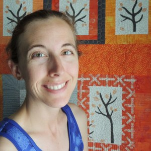 Yvonne (Quilting Jetgirl) with Namibia Trees