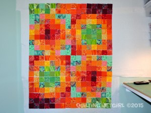 Groovy Scrap Quilt - Design Layout
