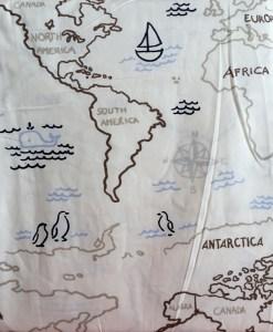 World Map Sheet Detail