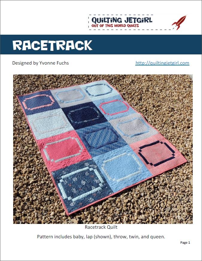 Racetrack Quilt Pattern