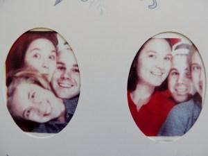 Amanda, Dom, and Yvonne circa 1998