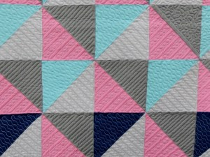 Quilting Details of Color in Flight by Cynthia Whitten in Modern Traditionalism