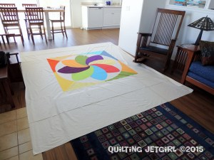 Cocoa Leaf Medallion Quilt