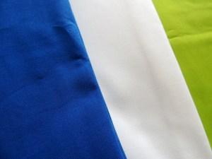 Kona Royal Blue, Kona White, Kona Lime