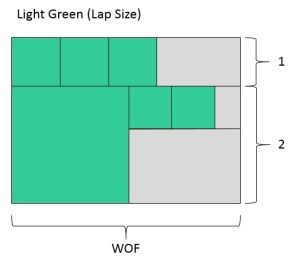 Light Green Lap Size