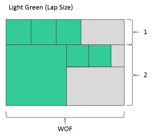 Light Green Lap Size