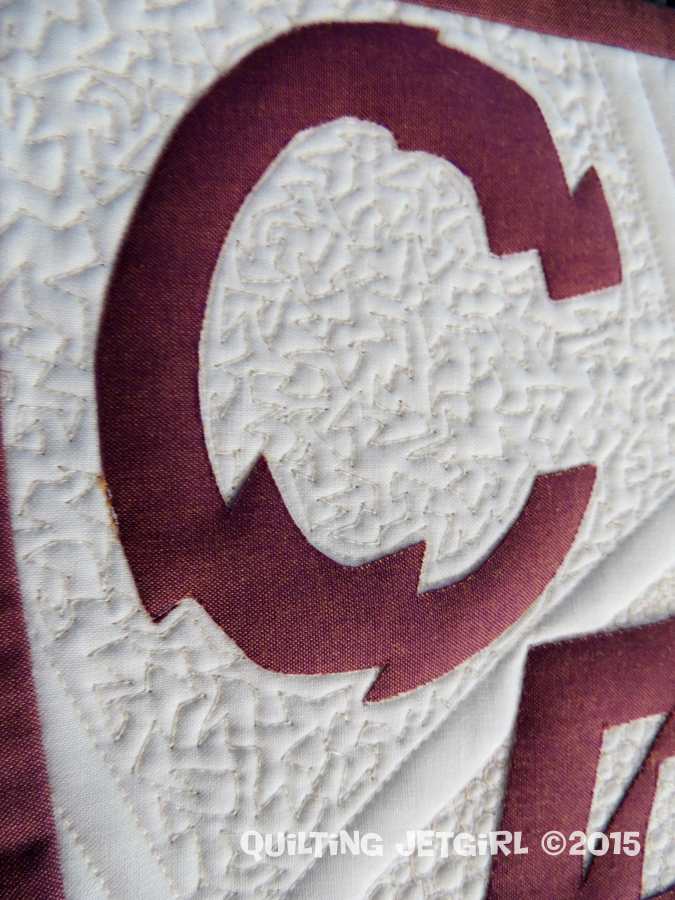 Reclamation Project II - Quilting Detail