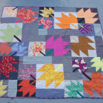 Modern Maples Quilt by Kate @Thread Everywhere