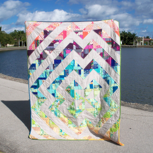 Colorado Beauty Quilt by Kate @Thread Everywhere
