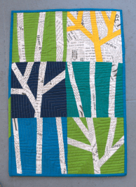 Winter Trees by Kate @Thread Everywhere
