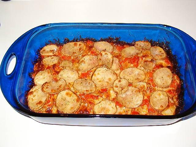 Potato Tomato Casserole