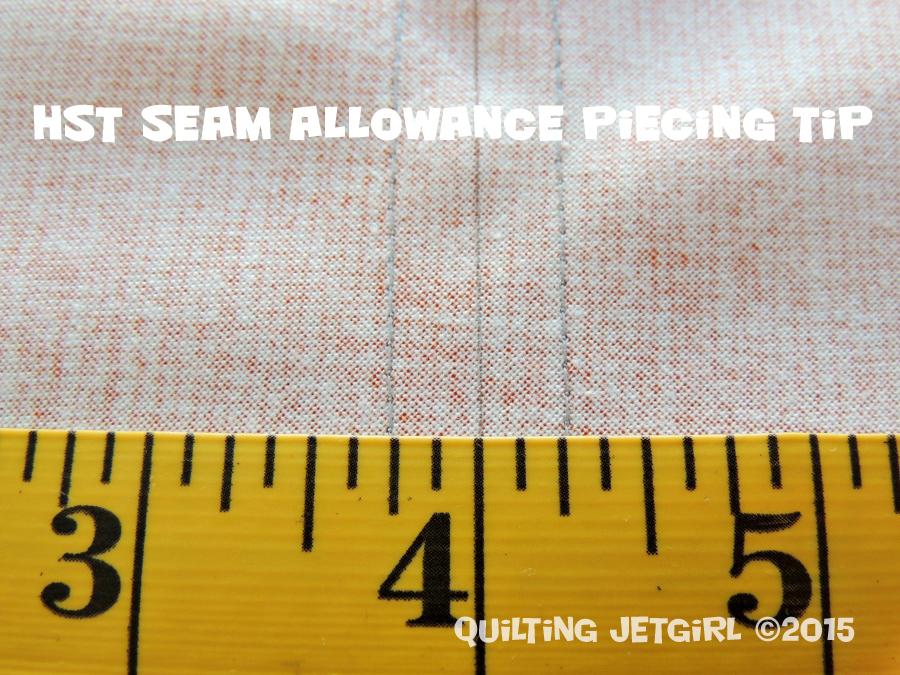HST Seam Allowance Piecing Tip