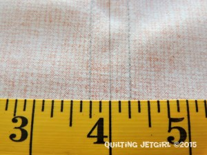 Seam Allowance Tip - Quarter Inch Seam Allowances