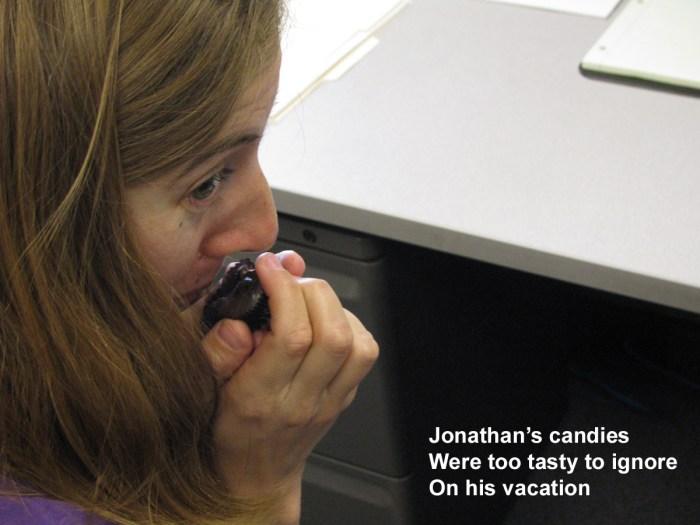 Jonathan's Candies Haiku