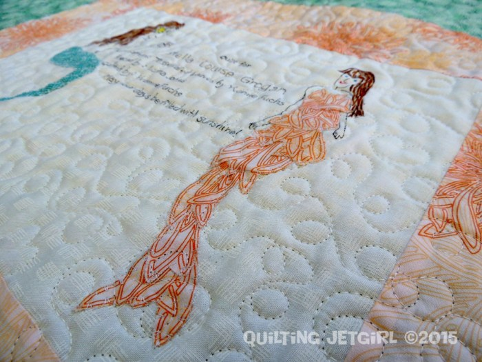 Collaborative Baby Quilt II - Label