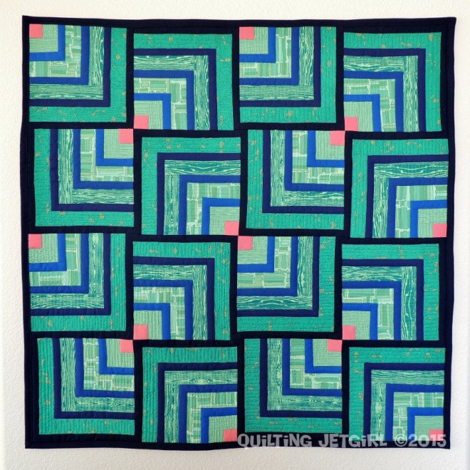 Mini Quilt Swap - My Quilt for Christina
