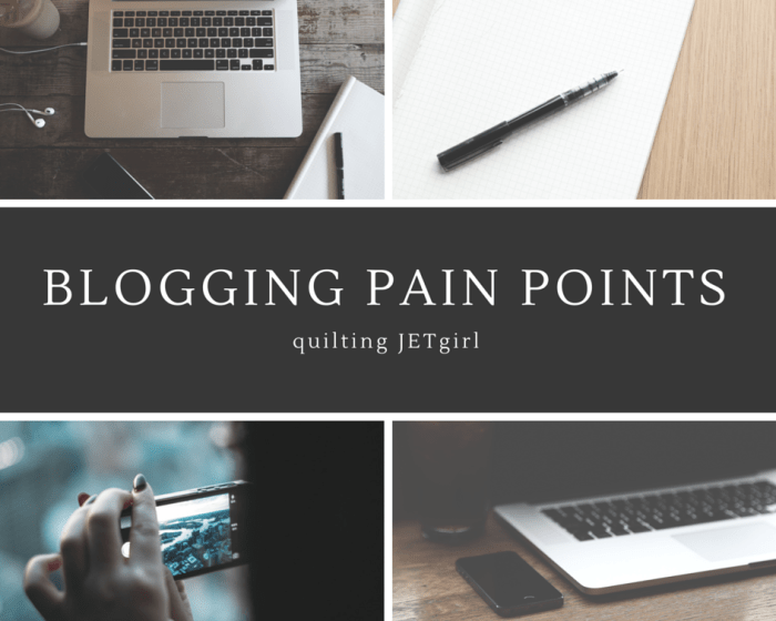 Blogging Pain Points