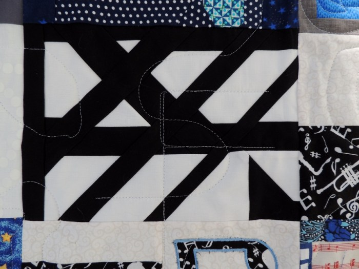 Mr. L's Quilt - Quilting Detail