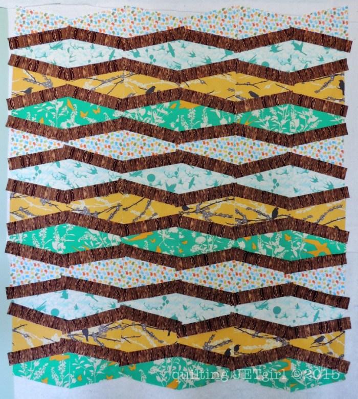 Bird Baby Quilt - Fabric Prep