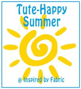 tute happy summer button