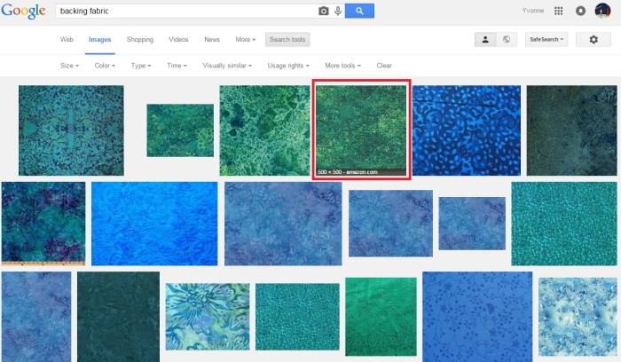 Visually Similar Images