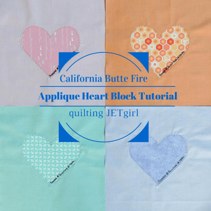 Applique Heart Block Tutorial