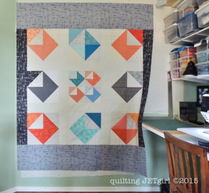 Love Letters Quilt - Pieced Backing