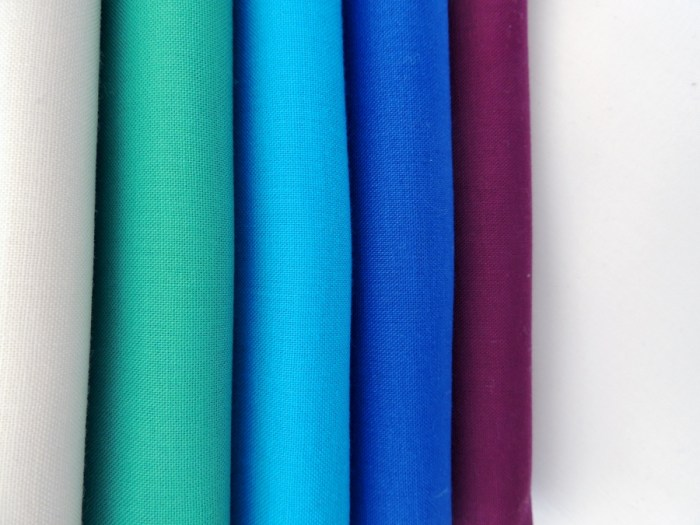 Kona Bone, Bluegrass, Turquoise, Royal, Berry, and White