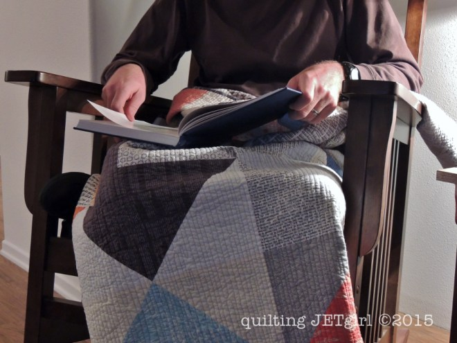 Love Letters Quilt - Used on Day 1