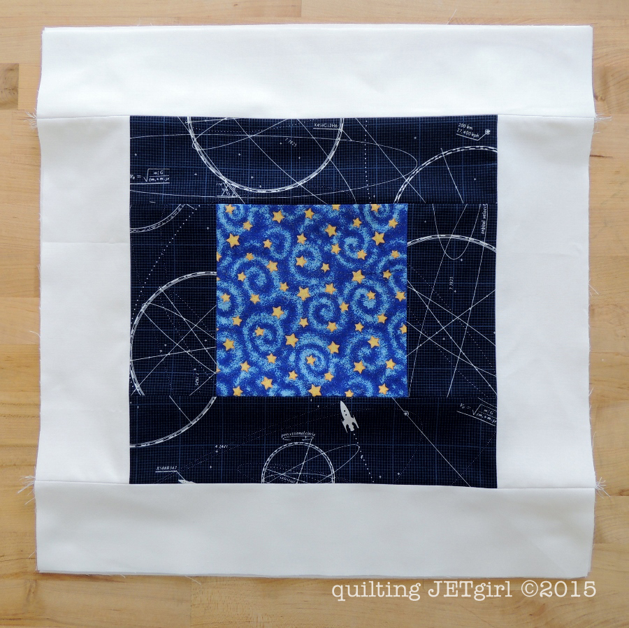 Midnight Mystery Quilt - October Courthouse Step Blocks