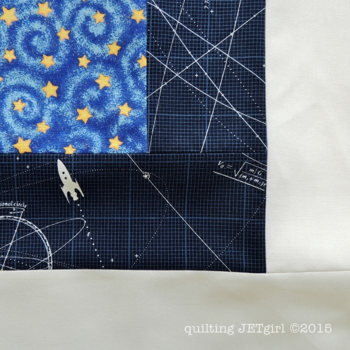 Midnight Mystery Quilt - Fabric Detail