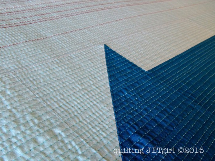 Red Herring - Quilting Detail