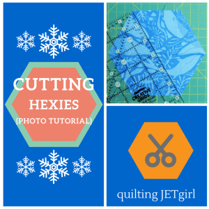 Cutting Hexies Photo Tutorial