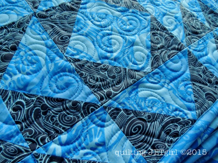 Lighthouse Lens Placemats - Quilting Detail