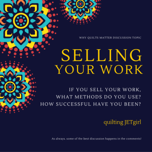 Selling Your Work