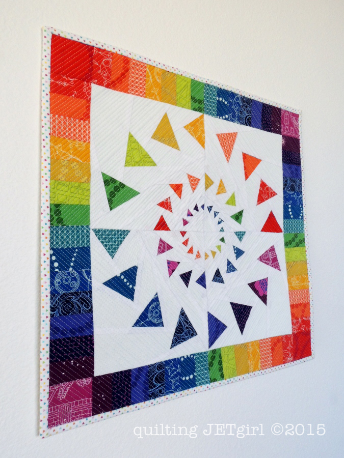 Triple Goosed Mini Quilt